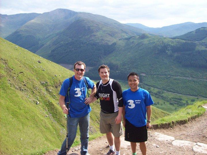 3 Peaks Challenge