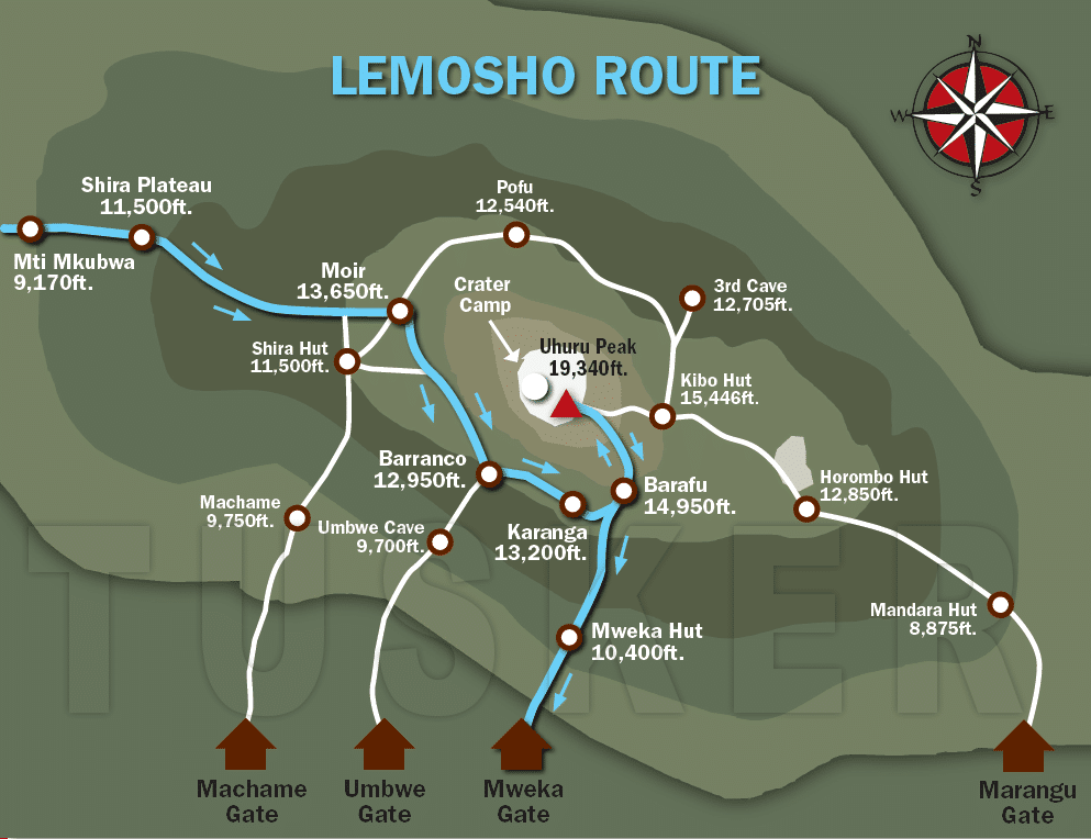 lemosho_route